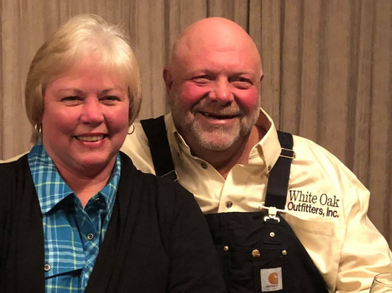Texas Outfitters Bruce & Becky Hunnicutt Heading On Their Bow Hunting Eastern Cape Hunting Safari Package With Royal Karoo Hunting Safaris South Africa