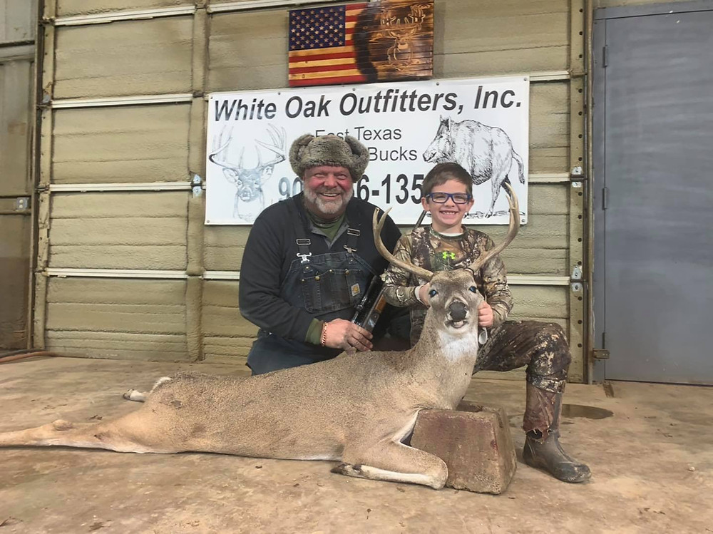 The last day of muzzleloader season and youth season was a great day!  I had the good fortune to take a 5 yr old 8 point with the muzzleloader and thank to Mike Williams and his tracking dog we were able to recover my deer after a marginal shot!! Gavyns deer only ran 50 yds and we watched him pile up!  I think i was more excited than he was but he was shaking the whole stand after the shot!!  This makes all the time money and efforts to manage the deer pay off!!!