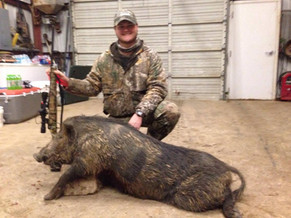 East Texas Free Range Boar Hunting Outfitters