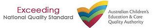 Child care exceeding logo Gold Coast Montessori