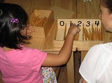 Montessori Spindle Sticks Maths Equipment