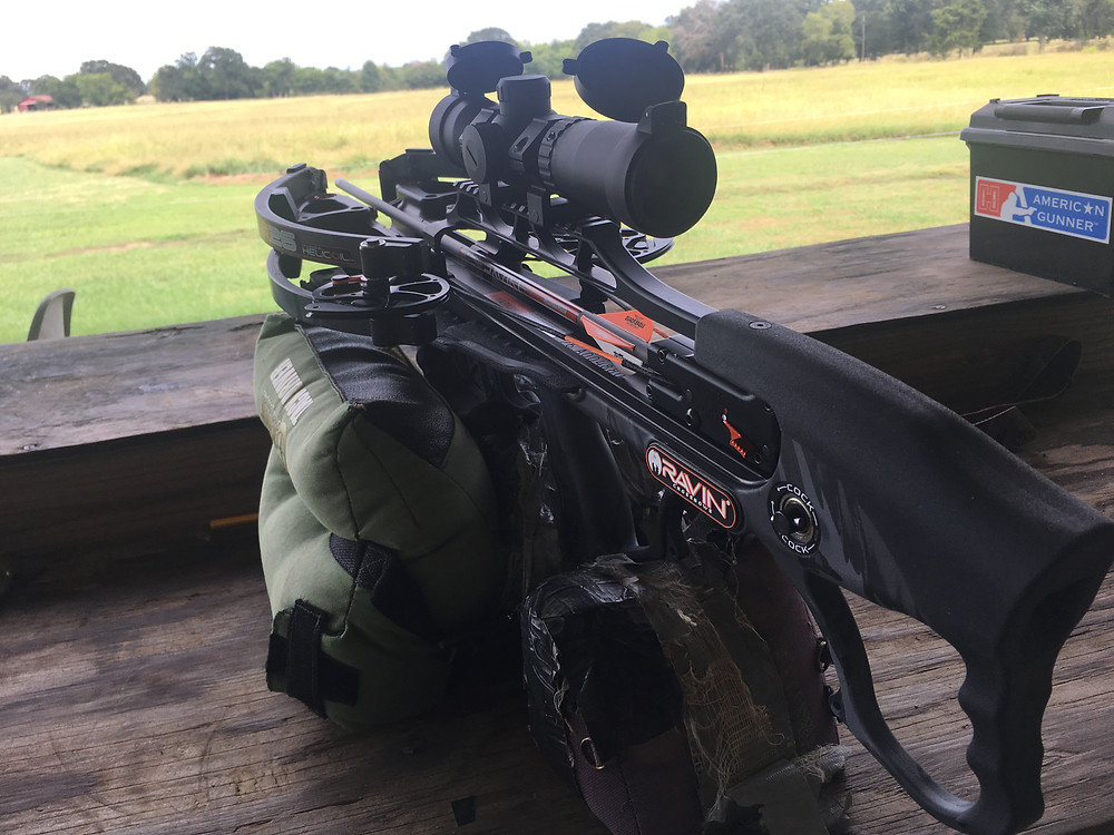 Ravin R26 Crossbow Hunting Texas Hogs