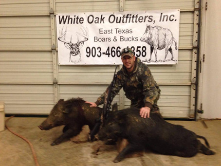Hunters Are Feeding The Families With Texas Hogs