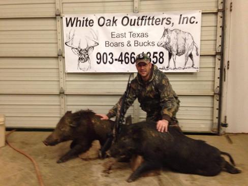 Texas Wild Boar Hunting