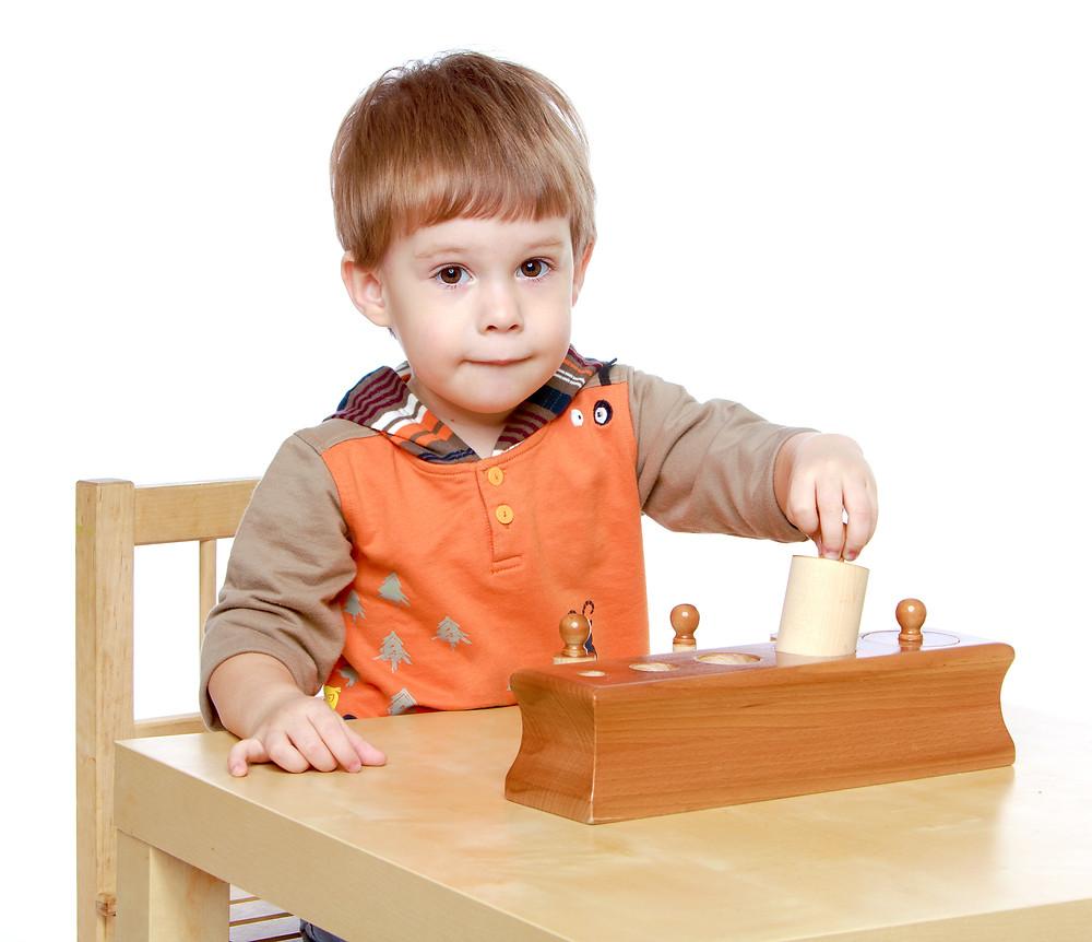 Montessori Cylinders - Montessori Learning Materials - Montessori Gold Coast