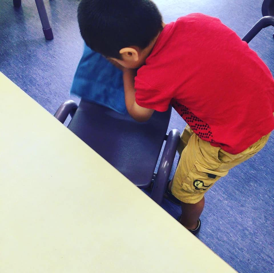 Practical life tasks are an integral part of the Montessori classroom. Giving children opportunity to be part of their own hygiene helps them understand why it's so important and gives them confidence especially in this pandemic. #montessori #notallkindergartensarethesame #practicallife #health #hygiene #play #learn