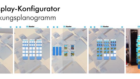 AR Displaykonfigurator APP