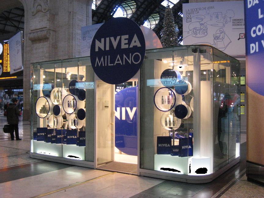 Popup Concept Nivea
