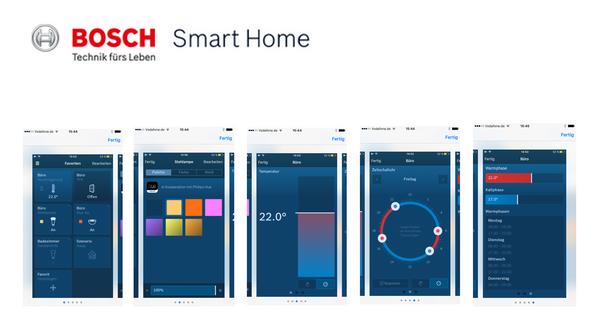 Bosch Smart Home Demo-App