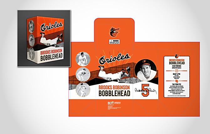 Orioles Brooks Robinson Retro Bobblehead