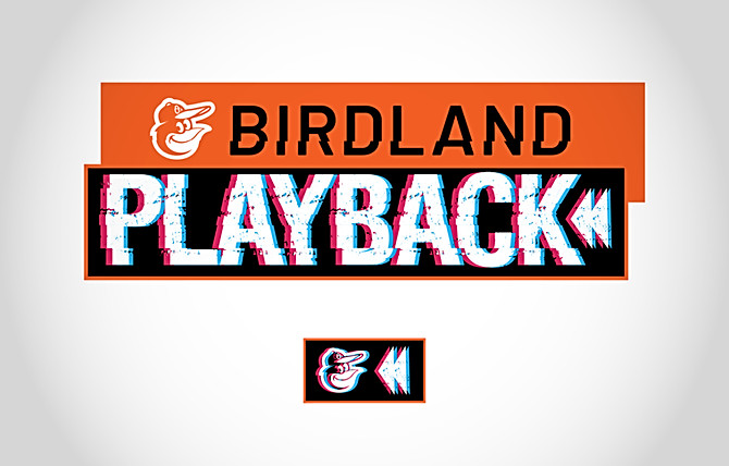 Orioles Birdland Playback Game Streaming Logo