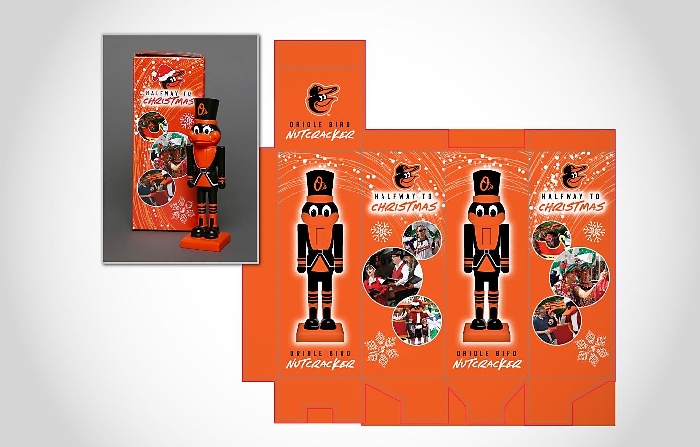 Orioles Nutcracker Packaging