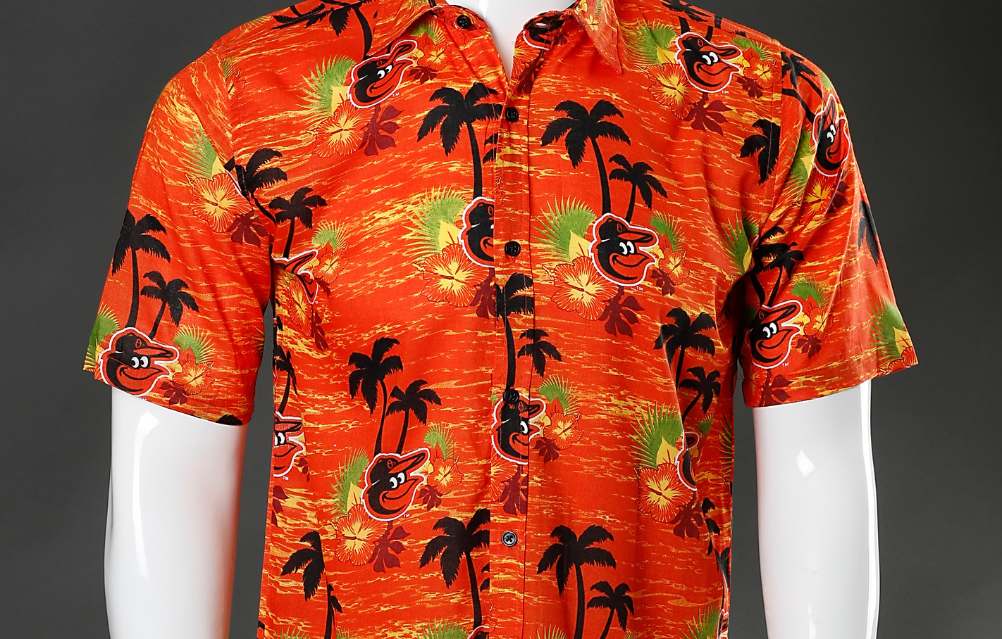 Orioles Hawaiian Shirt Design