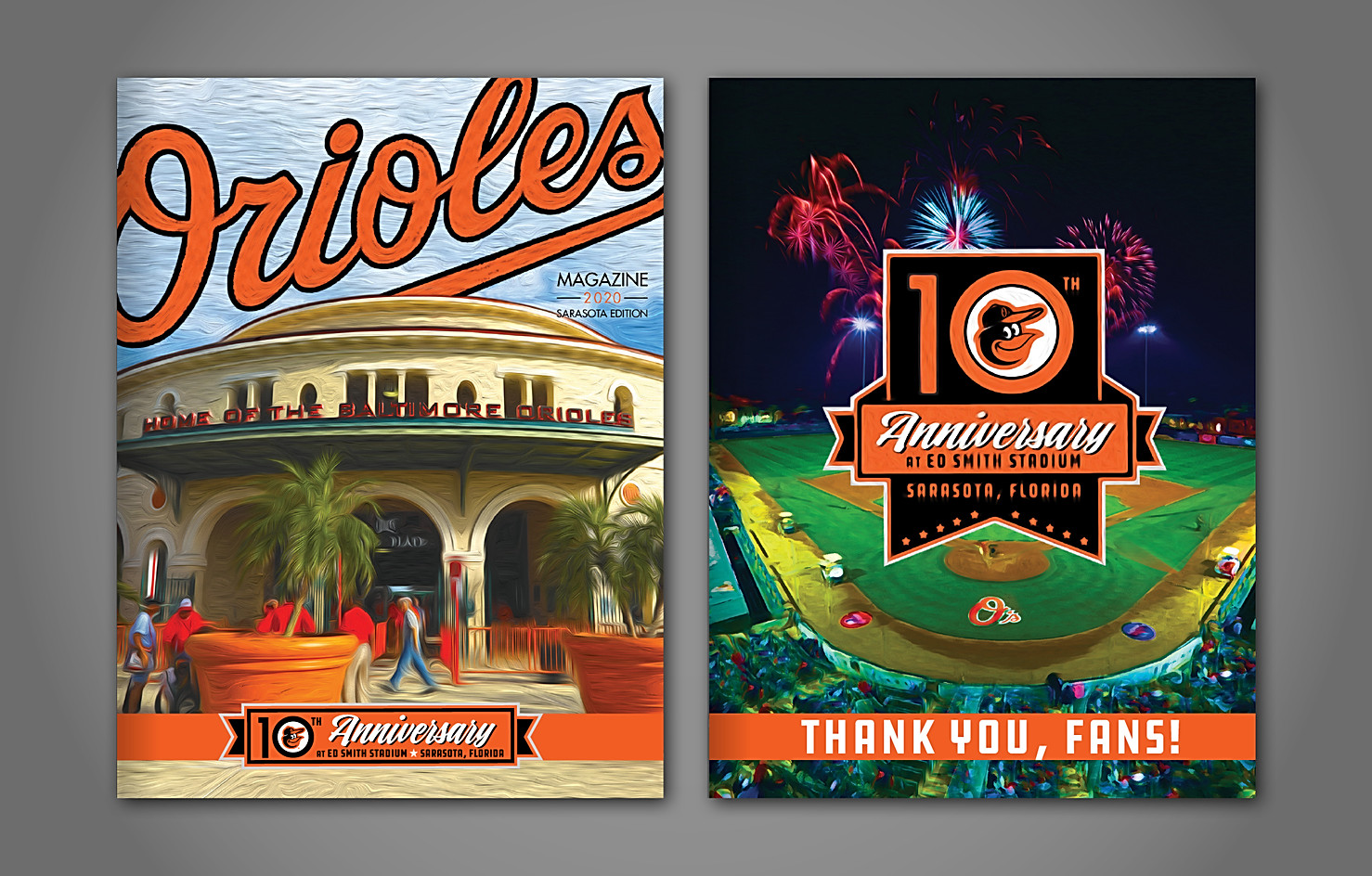 Orioles Magazine Spring Training Edition 2020 Front & Back Covers