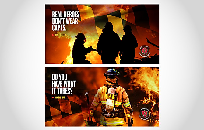 Maryland State Firemen's Association Recruitment Campaign