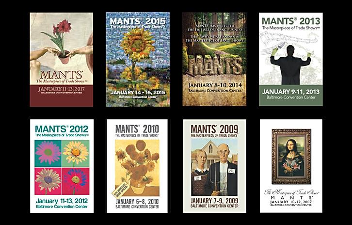 "Mid Atlantic Nursery Trade Show ""The Masterpiece of Trade Shows"" Campaigns"