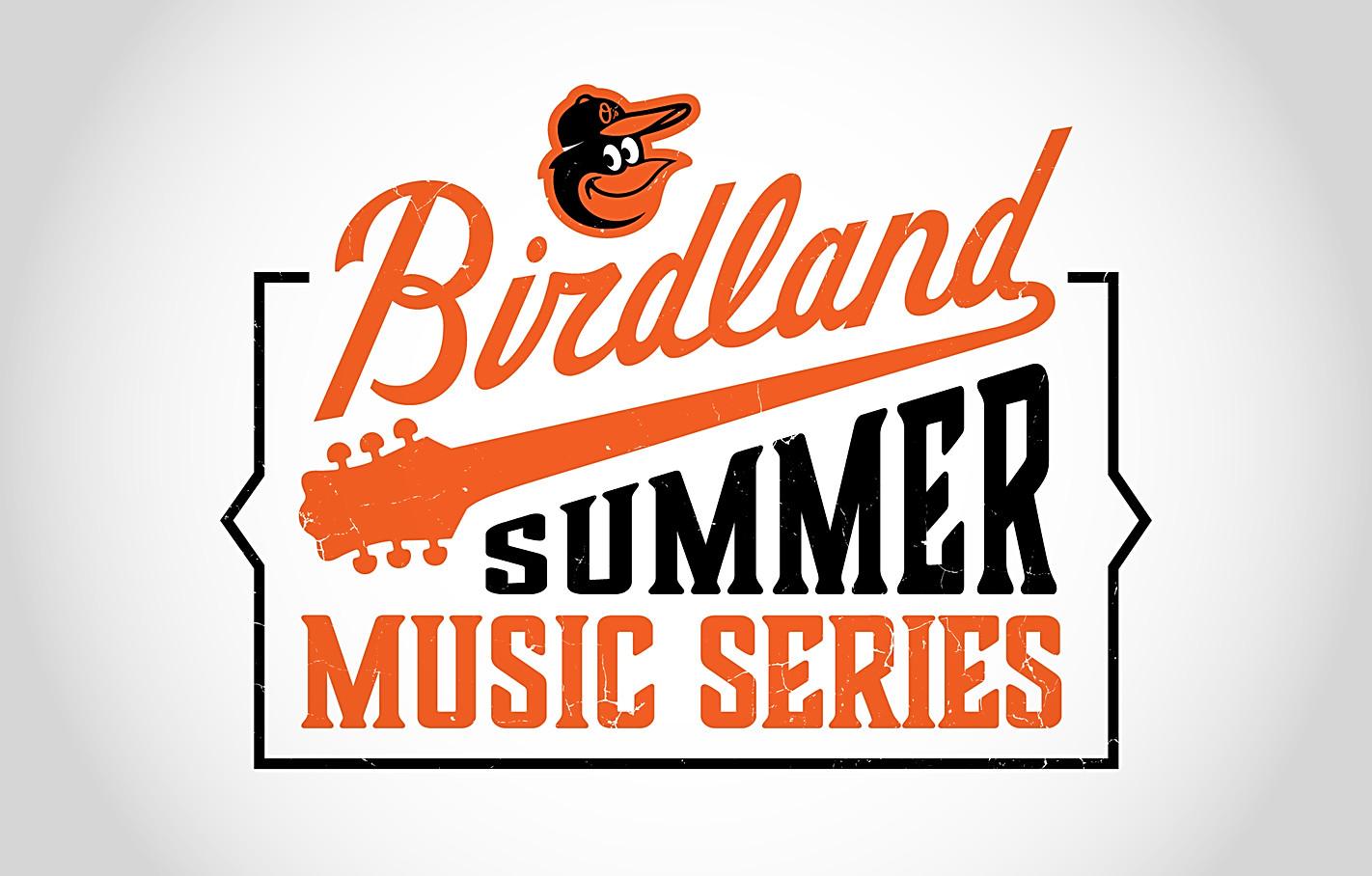 Orioles Birdland Summer Music Series Logo