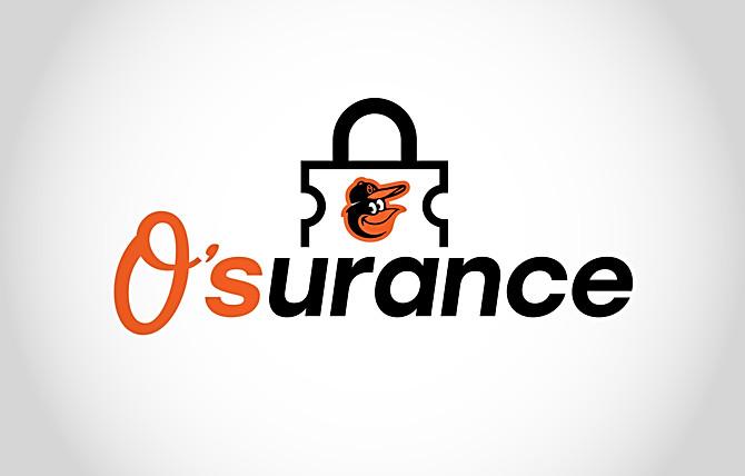 Orioles O'surance Logo