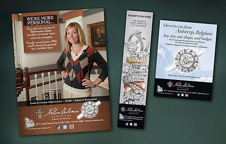 Nelson Coleman Jewelers Print Ads