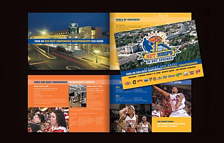 Sun Belt Conference Basketball Championship Brochure