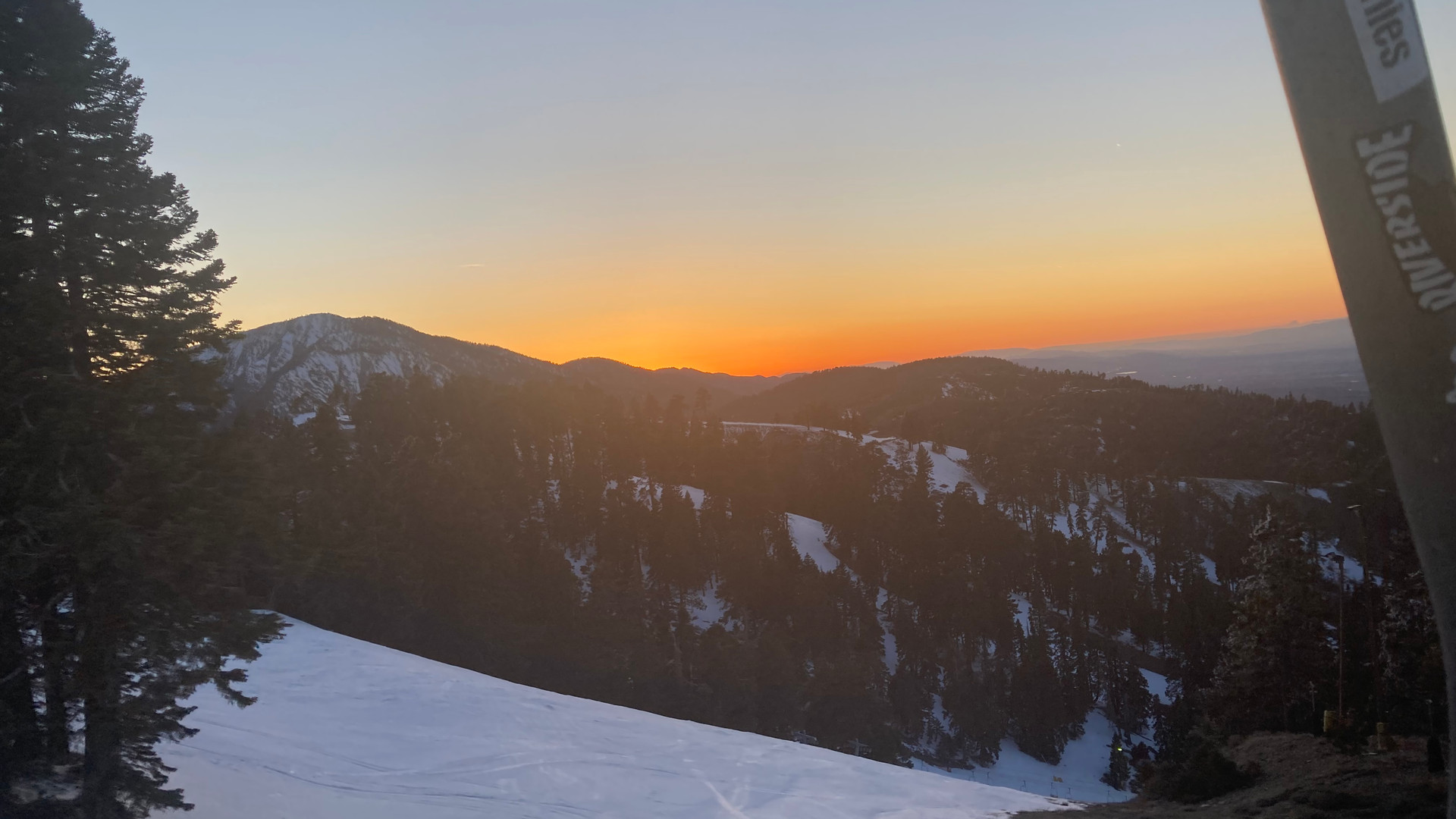 Friday night..another long week. Sunset at 9000' far from the dust and asphalt..bout to rip down this mountain at 40 mph and hopefully forget about everything for a little while.