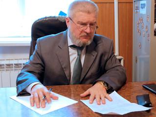 Александр Балберов провел депутатский прием в штабе регионального отделения ЛДПР