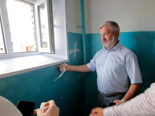 Александр Балберов проконтролировал работы по программе «Наш город»