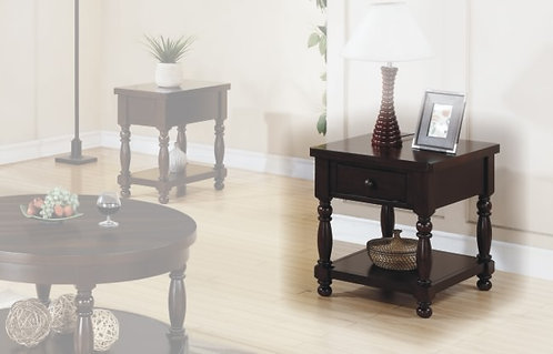 """Hickory 22"""" End Table"""