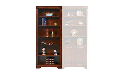 """Country Cherry 32"""" Open Bookcase"""