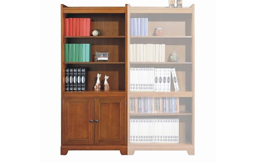 "Topaz 72"" Bookcase W/ Doors"