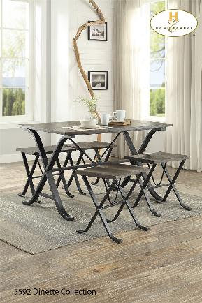 Westerlyn Collection 5pc Pack Dinette
