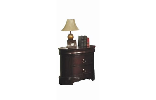 """Sommerset 30"""" Oval Night Stand"""