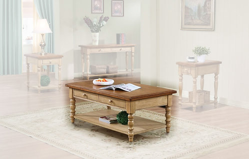 "Quaint Retreat 50"" Coffee Table"