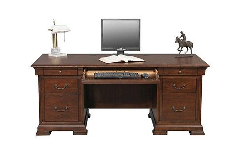 "Classic Cherry 72"" Flattop Desk"