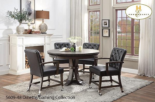 Ante Collection Reversible Top Round Game Table