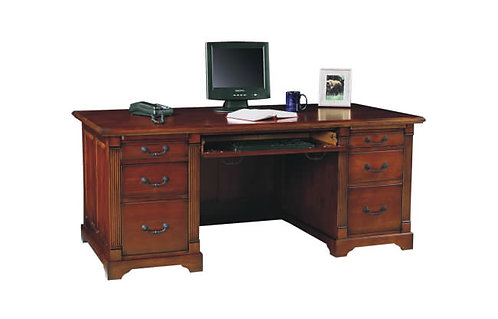 "Country Cherry 72"" Flattop Desk"