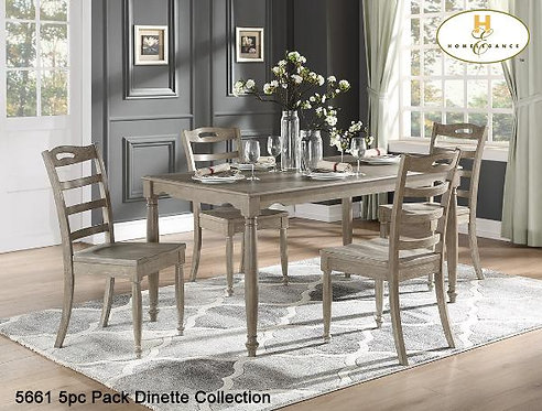 5pc Pack Dinette Collection