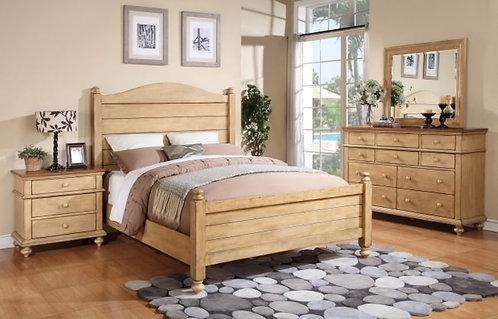 Quaint Retreat Panel Bed
