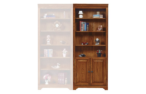 "HTG 32"" Bookcase w/ Doors"