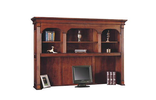 """Country Cherry 72"""" Hutch W/Open Shelves"""