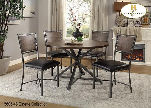 Dinette Collection Pine Round Table