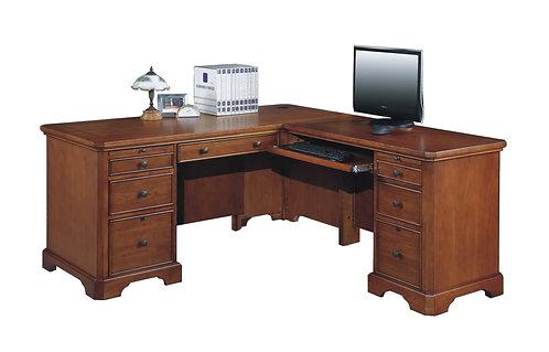 "Topaz 66"" Desk W/ Return"