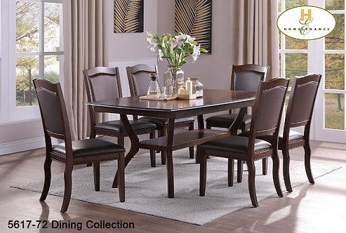 Navarre Collection Birch Veneer Dining Table