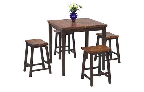 Acacia 5-pcTall Table Set