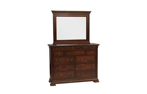 Classic Cherry Tall Dresser