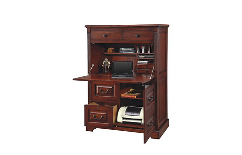 """Country Cherry 42"""" Computer Armoire"""