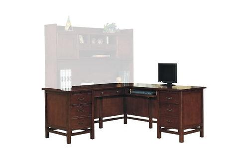 "Willow Creek 68"" Desk W/ Return"