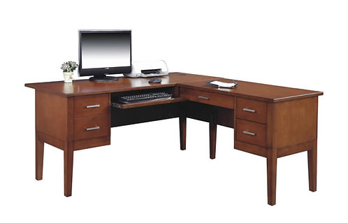 "Kingston 62"" Desk W/ Return"