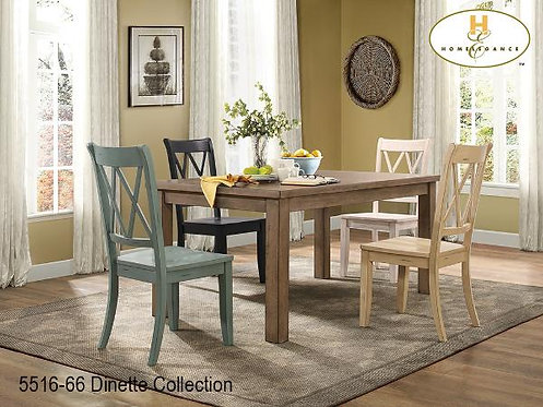Janina Collection Pine Dining Table