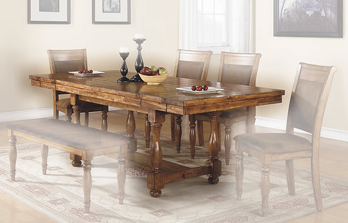 """Grand Estate 92"""" Ped Table"""